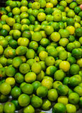 Green Lemon for sale Royalty Free Stock Images