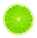 Green lemon slice Royalty Free Stock Photography