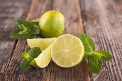 Green lemon Stock Image