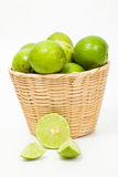 Green lemon Stock Photo