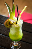 Green lemonade Stock Image