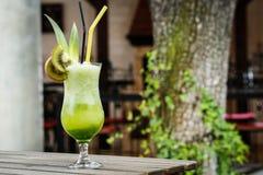 Green lemonade Stock Photography