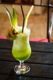 Green lemonade Royalty Free Stock Images