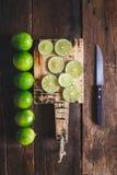 Green Lemons Stock Images