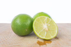 Green lemons Stock Photos