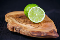 Green lemons Royalty Free Stock Photo