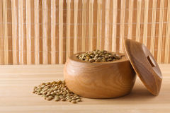 Green lentil Royalty Free Stock Photography
