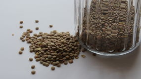 Green lentil Stock Photo