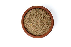 Green Lentils Royalty Free Stock Image