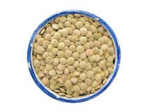 Green lentils Royalty Free Stock Photos