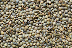 Green lentils Stock Photography