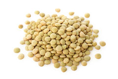 Green lentils Stock Photos