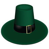 Green leprechaun hat Stock Image