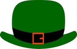 Green Leprechaun`s hat for St. Patrick`s Day decoration royalty free illustration