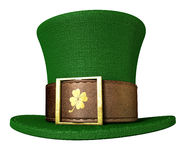 Green Leprechaun Shamrock Hat Stock Images