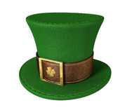 Green Leprechaun Shamrock Hat Royalty Free Stock Image