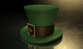Green Leprechaun Shamrock Hat Royalty Free Stock Images