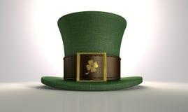 Green Leprechaun Shamrock Hat Stock Photography