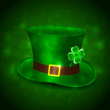 Green leprechauns hat Royalty Free Stock Photos