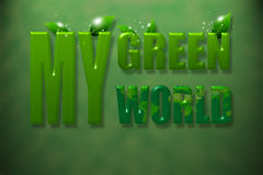 My Green World Royalty Free Stock Images