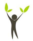 Green life vector illustration