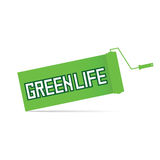 Green life  in colorful Royalty Free Stock Photography