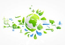 Green life Royalty Free Stock Photos