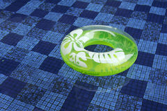 Green life saver Royalty Free Stock Image