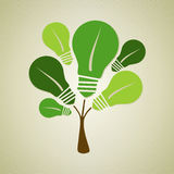 Green life tree illustration Stock Photography