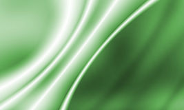Green light. A soft abstract background in green with light lines and soft shadows Royalty Free Stock Photography