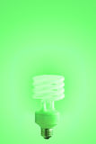 Green Light. Eco Light on green gradient Royalty Free Stock Images