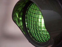 Green light. On street (traffic light Stock Images