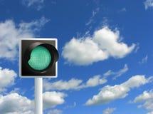 Green Light Royalty Free Stock Image