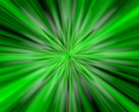 Into the green light Royalty Free Stock Photos
