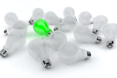 Green Light Royalty Free Stock Images