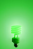 Green Light. On green background Royalty Free Stock Photography