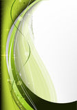 Green light abstract background Stock Photos