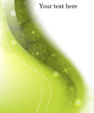 Green light abstract background Royalty Free Stock Images