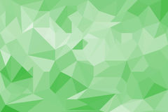 Green light abstract geometric background texture. Stock Image