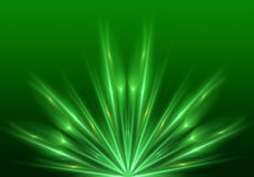 Green-light-abstract-hd-background Royalty Free Stock Image