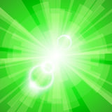 Green Light Background Stock Image