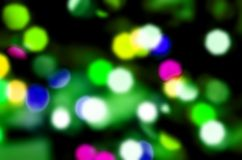Green light background blurr Stock Photography