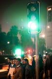 Green light. Stock Image