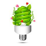 Green Light Eco Concept Royalty Free Stock Photography