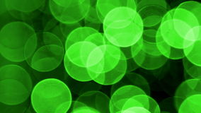 Green Light effects stock video