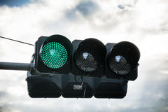 Green light Royalty Free Stock Photography