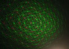 Green, Light, Organism, Space royalty free stock photography