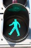 Green light Royalty Free Stock Photos
