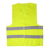 Green light vest Royalty Free Stock Images