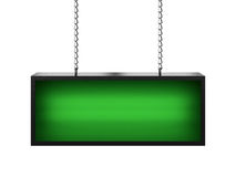 Green lightbox Stock Images
